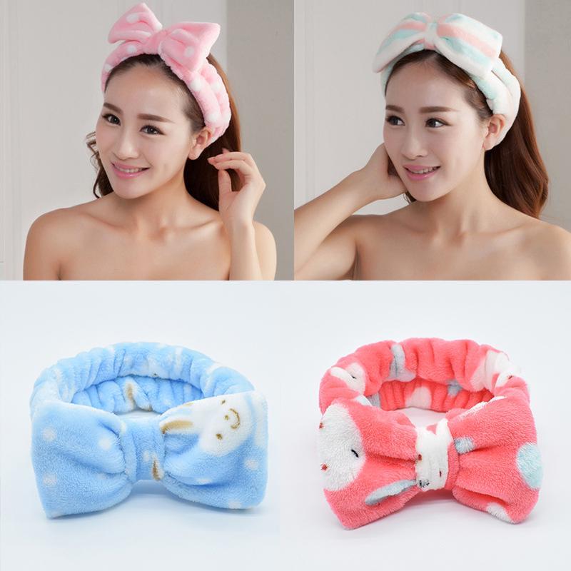 Soft Plush Hairband Cute Headband Makeup Headband ,Rabbit Ears Headband