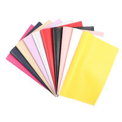 ffdd68758 22 CM * 30cm Litchi padrão falso couro para DIY saco sapatos Material  tecido Hademade