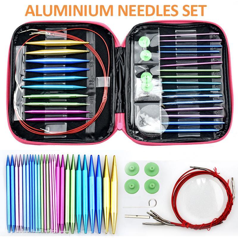 "KnitPro /""Bamboo/"" Interchangeable Circular Knitting Needles Starter Set"