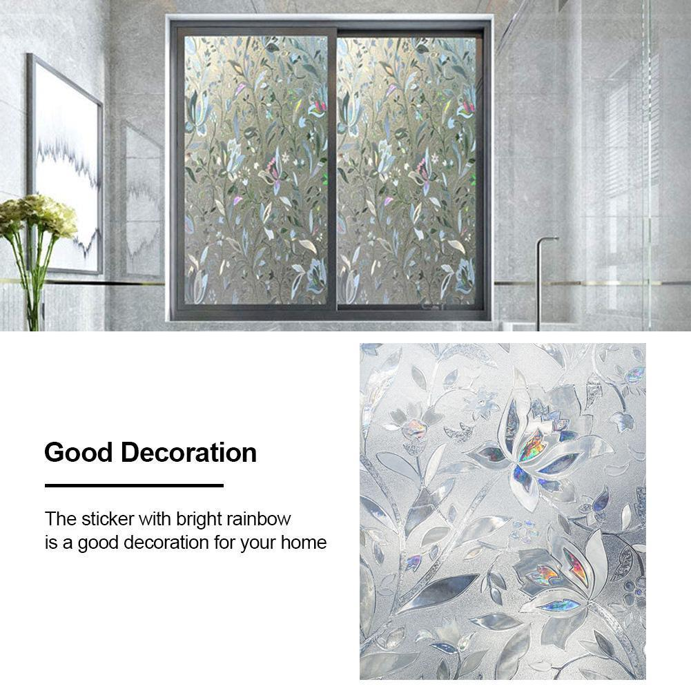 Thickening White Frosted Window Film Glass Films Stickers for bathroom toilet and office glass
