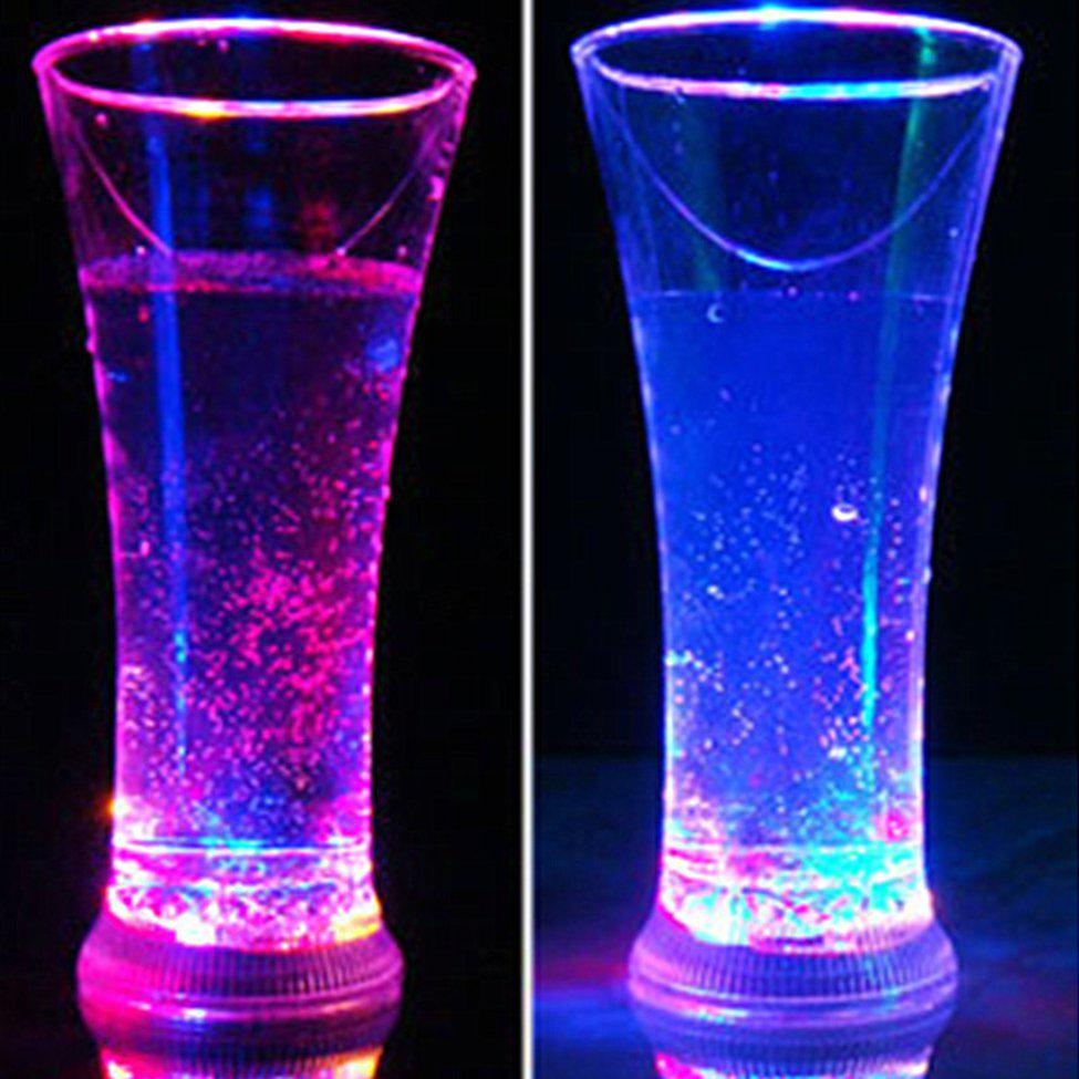 Luminous Silicone Cup Shatterproof Portable Red Wine Water Drinkware Party Event