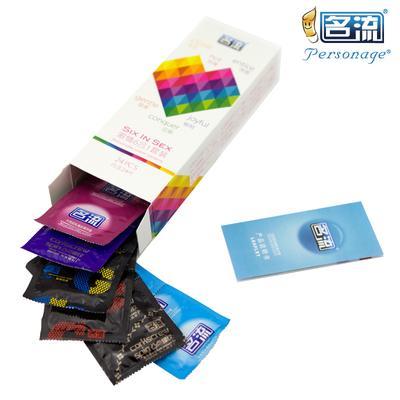 Condoms 24pcs 6 Types Men Condoms Latex Condoms Delay Ejaculation Adult Toys