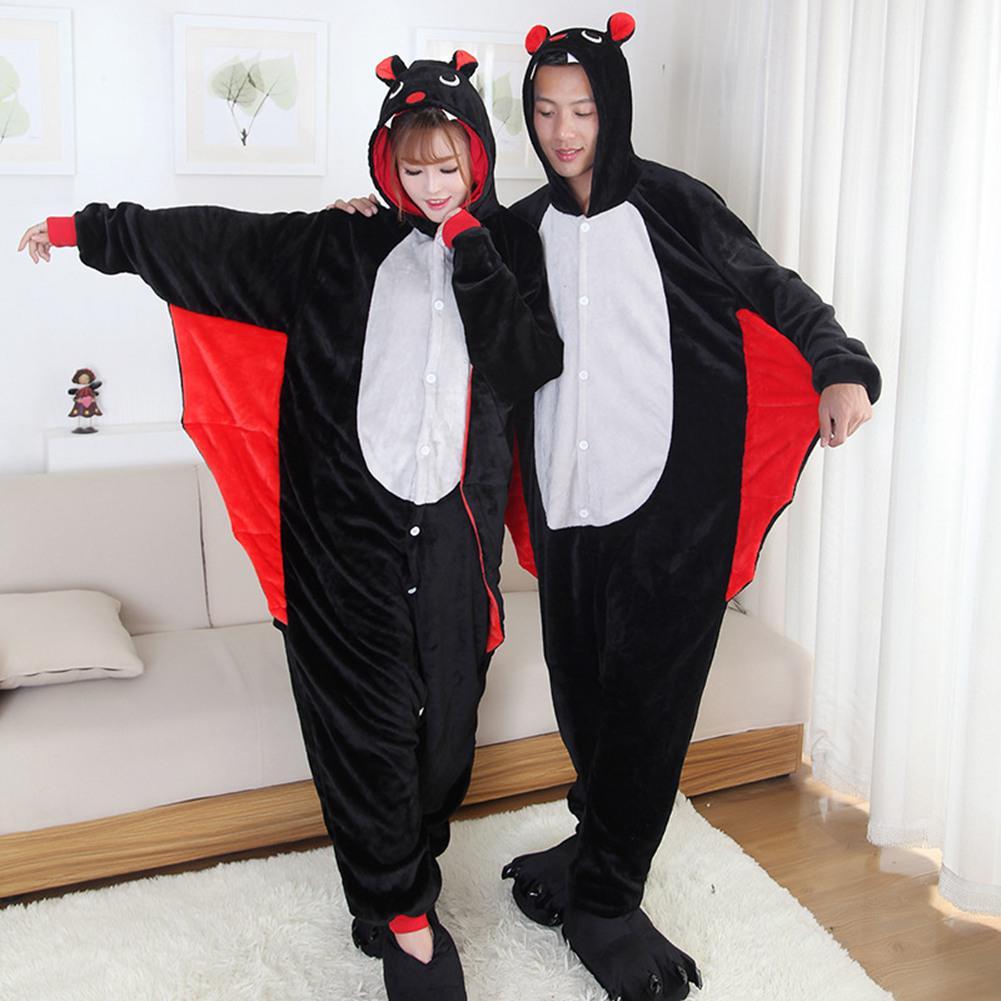 Летучая мышь унисекс пижамы Kigurumi Onesie Косплей костюмы животных  Onesies пижамы костюм взрослого – купить по низким ценам в  интернет-магазине Joom a2b590461ff24