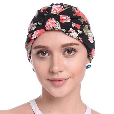 ... Caps Head Wrap India Style Ladies Muslim Beanies. Buy · Womans  Adjustable Leopard Printing Breathable Headscarf Stretch Cotton Turban 9738e0b80706