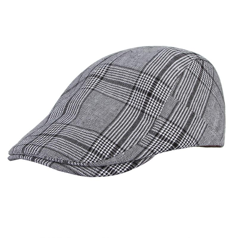 GEMVIE Womens Warm Winter Flat Cap Thick Knitted Outdoot Casual Peaked Baseball Hat Classic Solid Color Cabbie Visor Cap