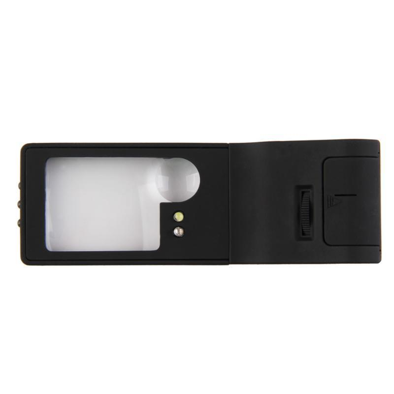 WinnerEco 6 in 1 LED Pocket Magnifier 3X 10X magnifier 55X Microscope and UV Light