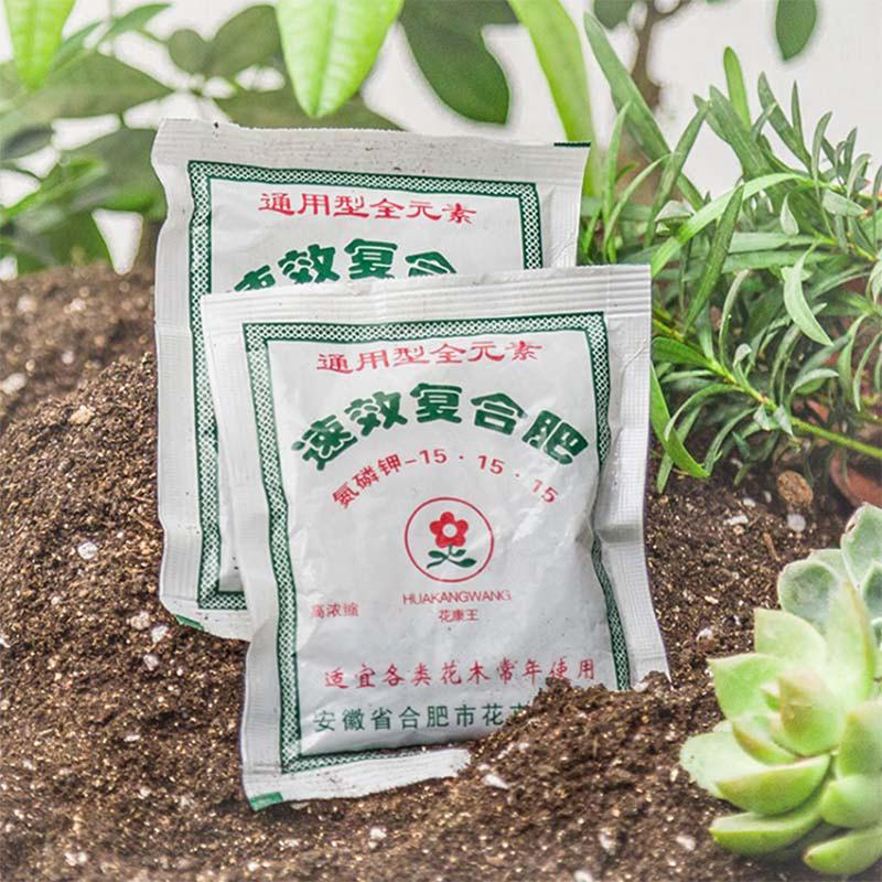 Flower dedicated available compound fertilizer suitable for flowers and treH2