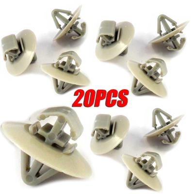 10 x Vauxhall Vivaro side door moulding side trim panel Clips GET 10 EXTRA !!!