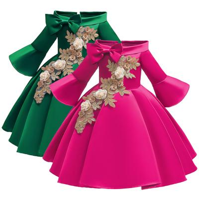 Kids Girls Dresses Fashion Princess Pageant Gown Birthday Party Wedding Dress