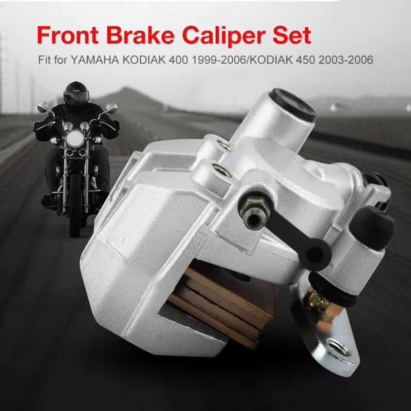 FRONT BRAKE CALIPER SET FOR YAMAHA KODIAK 400 1999-2006 KODIAK 450 2003-2006