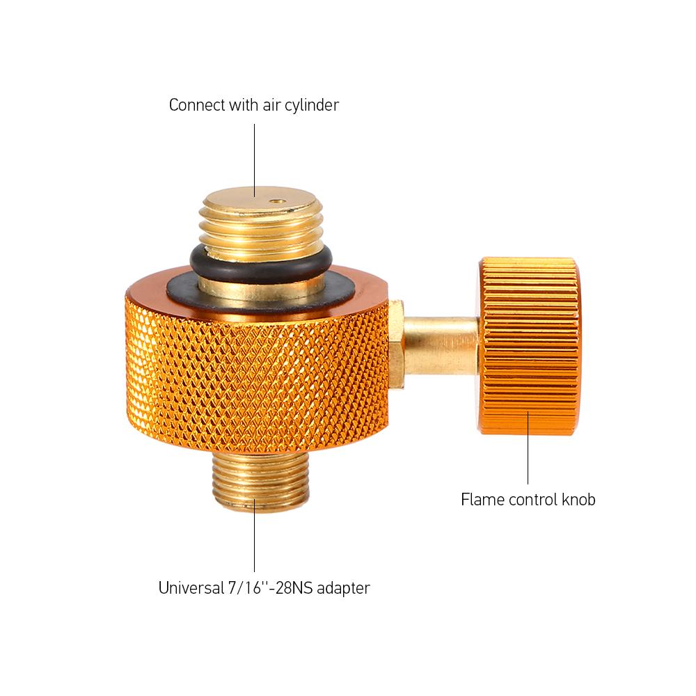 Outdoor Camping Stove Refilling Adapter Converter Gas Bottle Flat Tank Connector Gas Bottle Adapter Converter