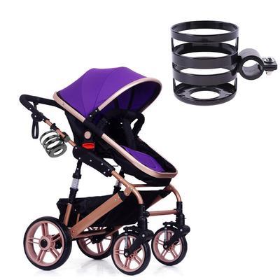 Portable Baby Stroller Accessories Cup Holder Pram Bicycle Milk Bottle Rack HZ