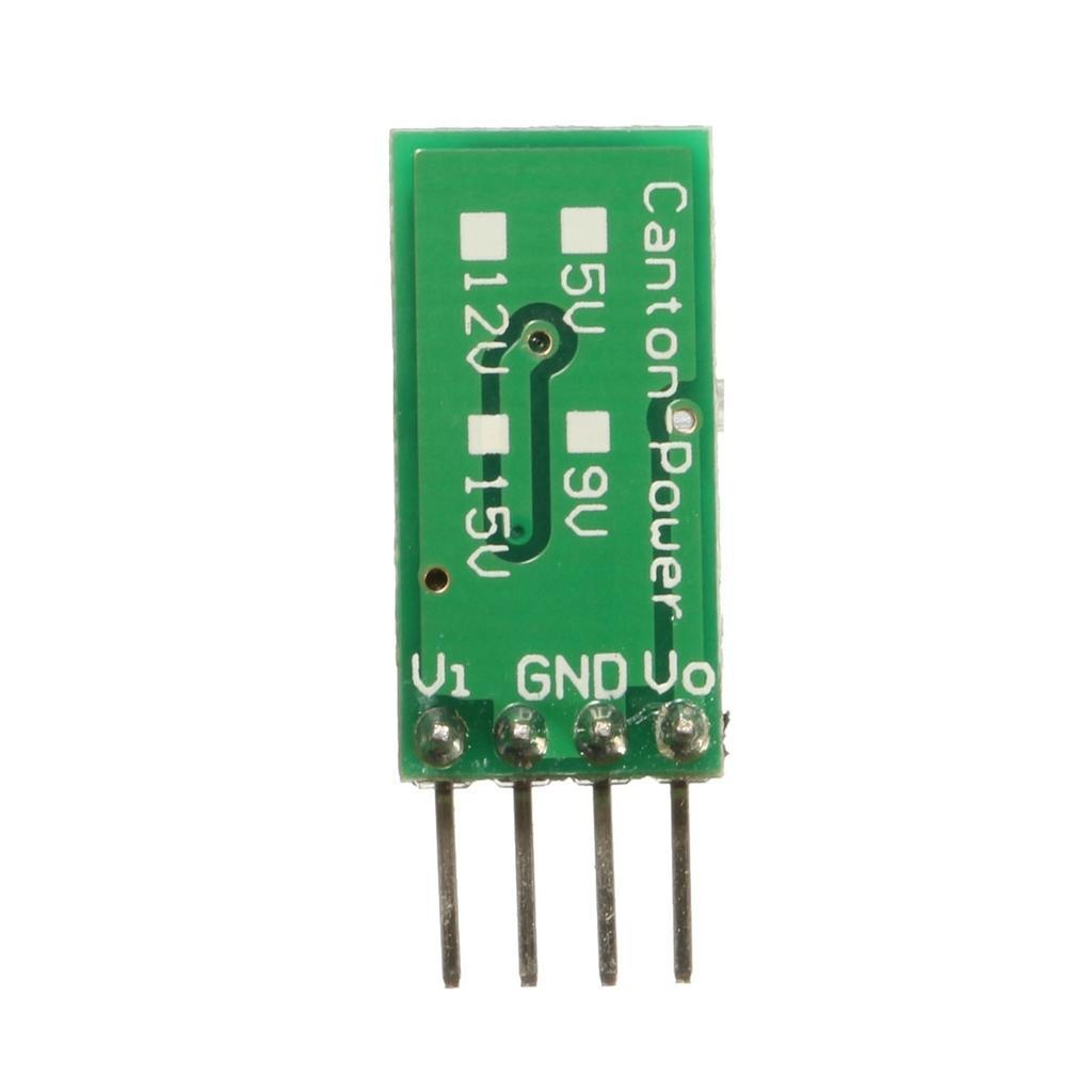 Mixcity Dc 3v 5v 6v To 12v Boost Voltage Regulator Step Up Power Down Converter With Transistor Bc337 1 Of 6