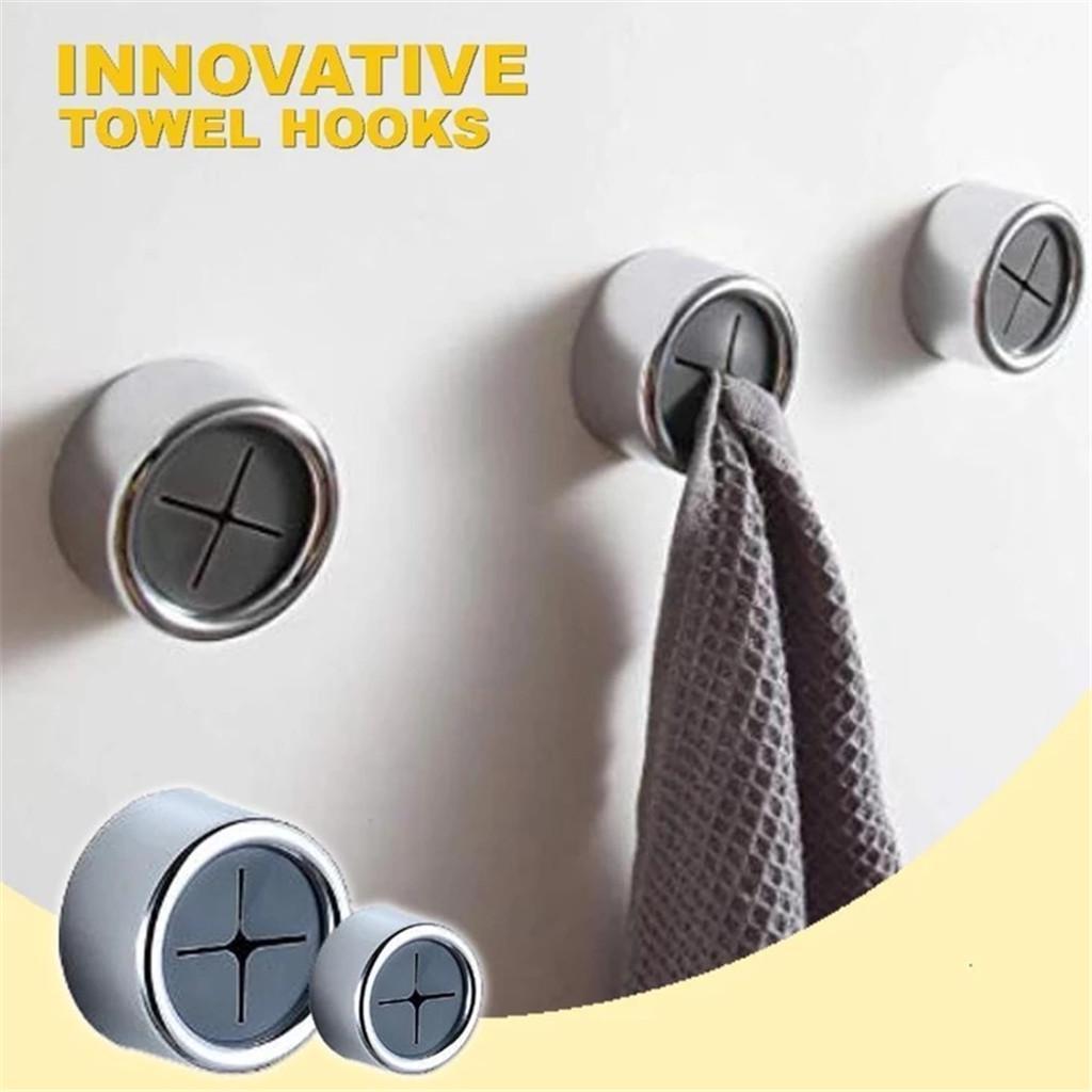Invincible Hook Free Towel Creative, Bathroom Door Hooks
