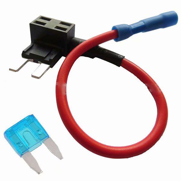 12V Add-a-circuit Car Fuse Micro ATM APM Auto 10A Blade Fuse Holder TAP Adapter