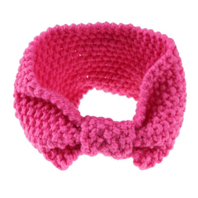 Diadema tejida invierno caliente para las mujeres Crochet arco ...