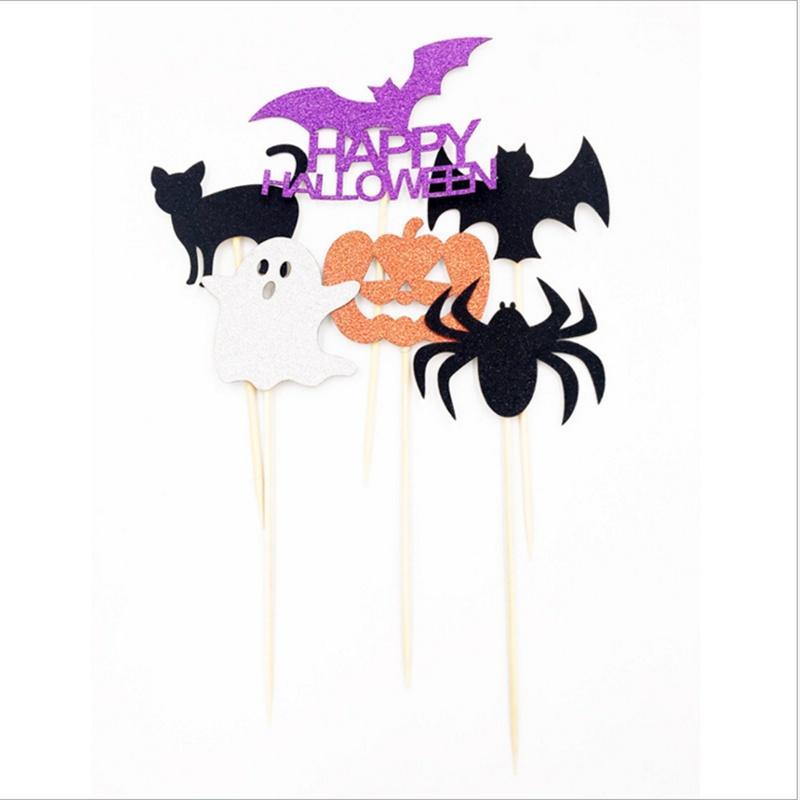 Bag of 30g Assorted Halloween Pumpkin Witch Star Table Confetti DIY Decor