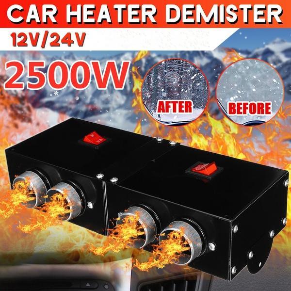 Universal 300W Car Vehicle PTC Heating Rapid Heater Hot Fan Defroster Demister