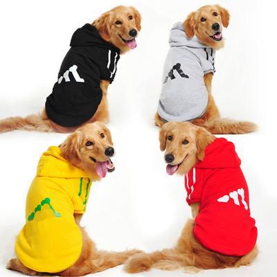 Warm Cotton Jackets Pet Cat Dog Patchwork Winter Fall Vest Puppy Costume Large Dog Clothes