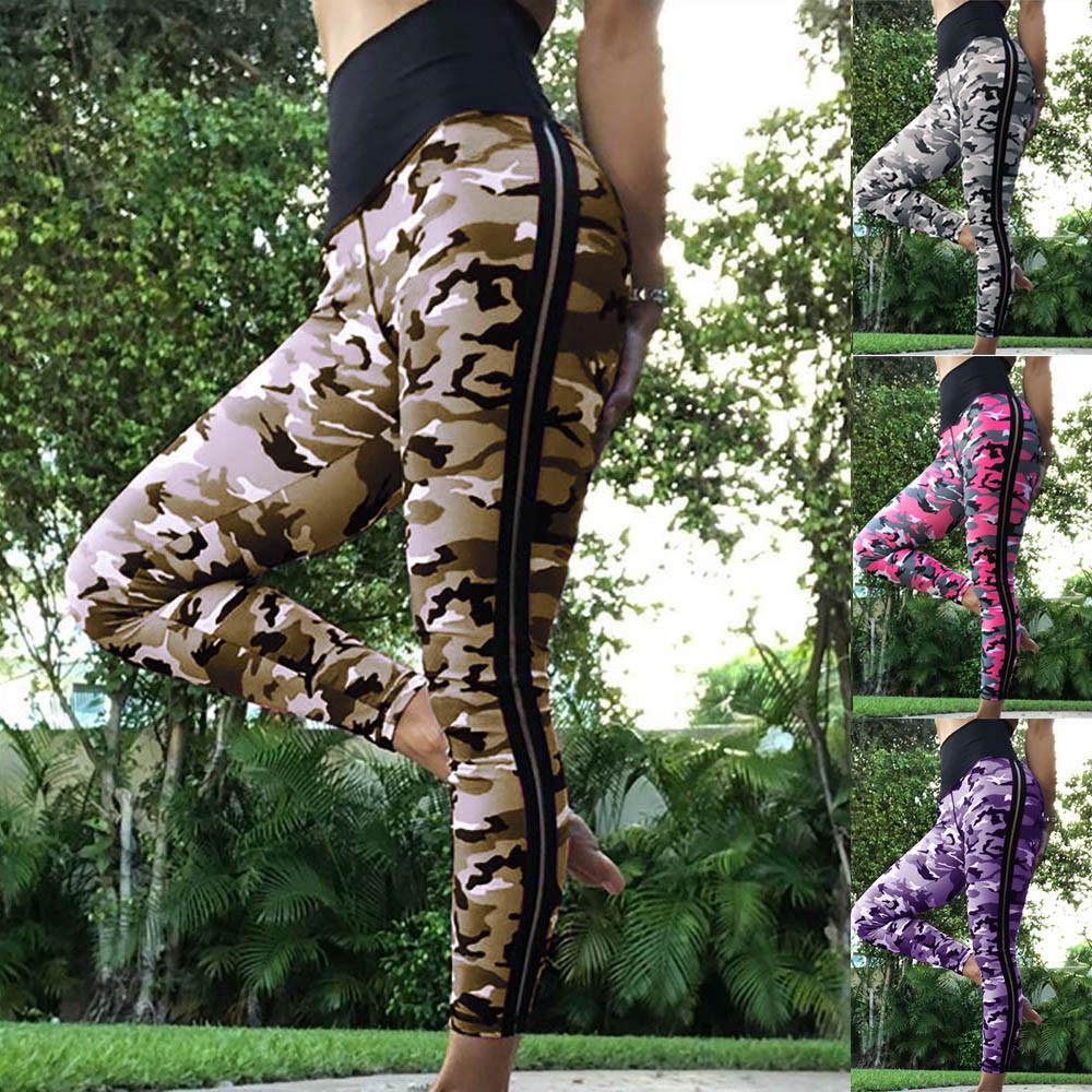 Mesdames Gym Yoga Pantalons Fitness Femme collants jogging exercice SLIM exécutant