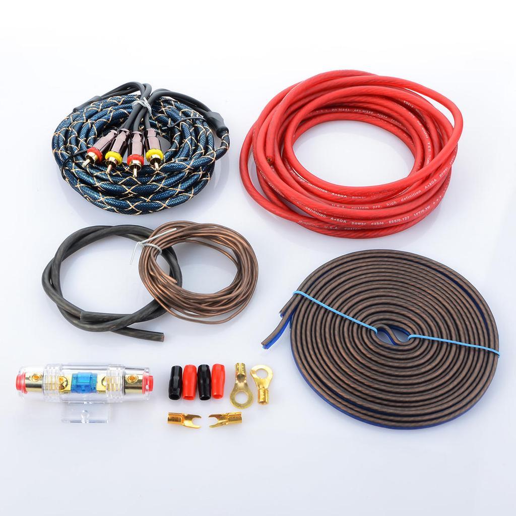 Auto Audio-System RCA Control Lautsprecher Endstufe Kabel ...