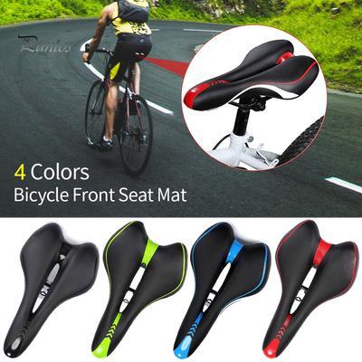 Bicycle Saddle Leather Mountain Bike Seat Cover Mat Cycling Bike Saddle Cushion