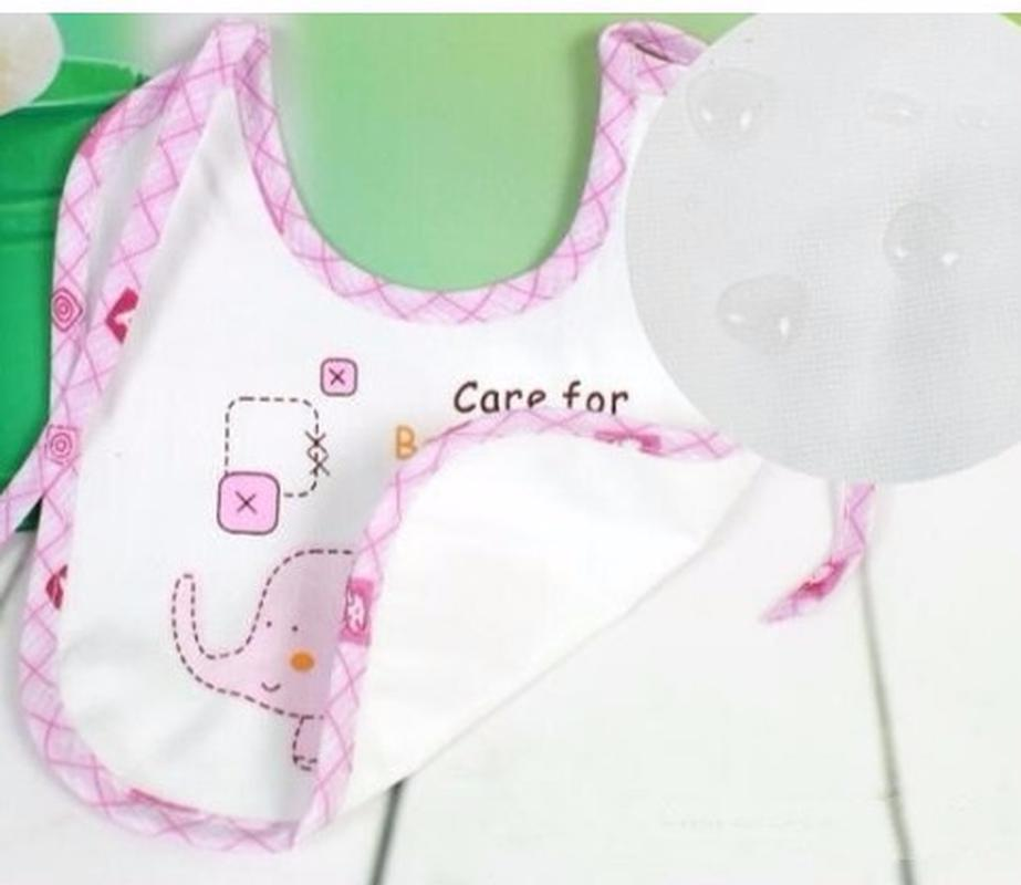 10pcs Newborn Baby kids Boy Girls Bibs Waterproof Saliva Towels Feeding Bandana