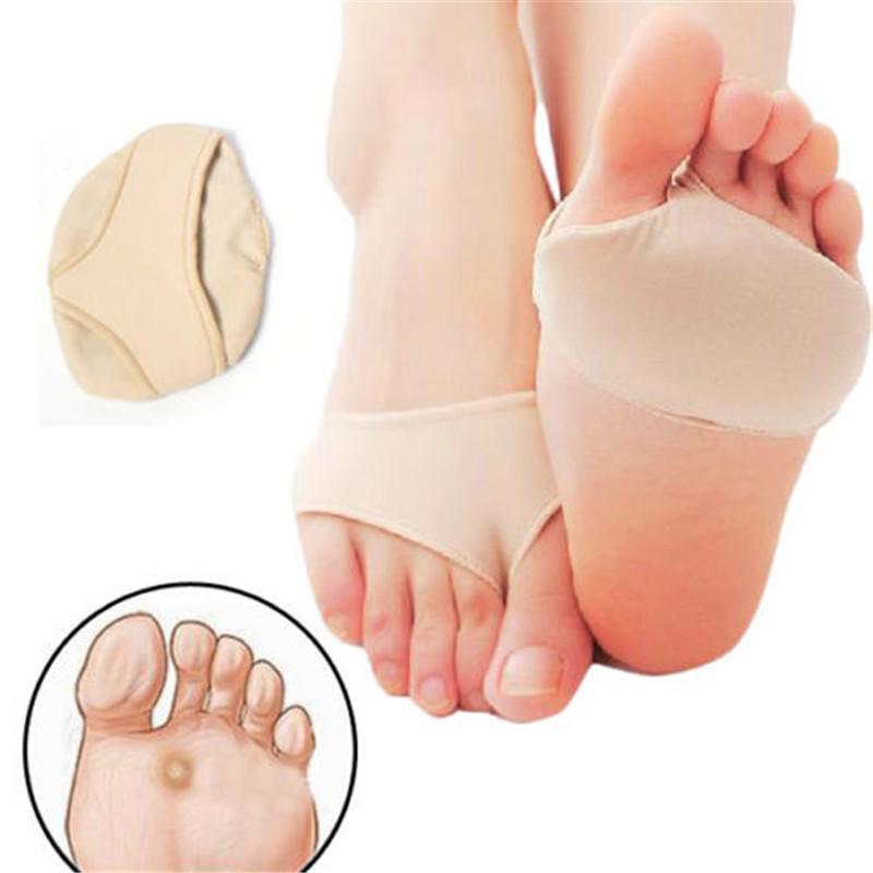 Hight Elastische Gel Vorfuß Silikon Schuh Pad Fuß Unterstützung Kissen Wund Schmerzen Einlegesohle Weiche Schmerzen Relief Für Frauen Schuhe Schuhzubehör