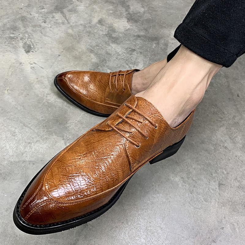 Fashion Shoes,Casual Shoes Mens Pointed Toe Oxford Shoes Formal Business Brogue Shoes Tuxedo Dress Shoes Matte Wingtip Hollow Carving Genuine Leather Lace Up Lined Oxfords for Men Personality Shoes,
