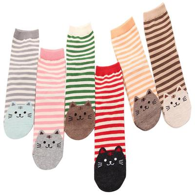New hot Stripe Unisex socks baby kids soft short boat star Stripe warm winter