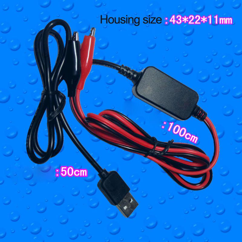 USB DC5V to 3V Power Supply Cable Step-down Replace 2x AA AAA Battery Eliminator