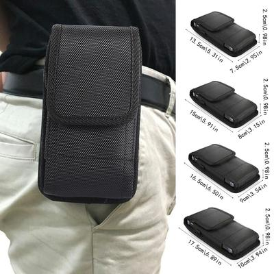 Nylon Holster Case with Belt Clip Phone Pouch Cover Phone Holster Case
