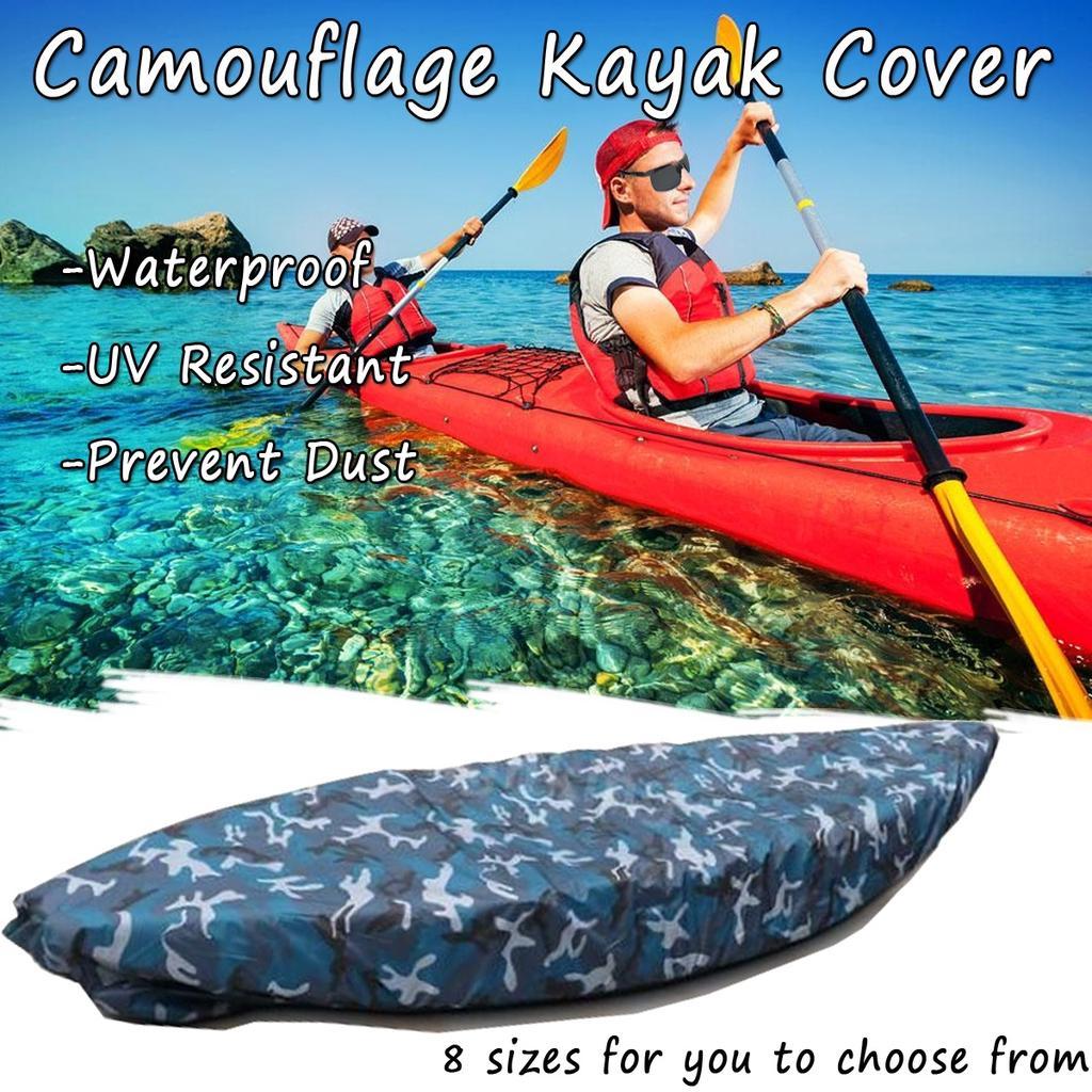 "16/' 8/"" Waterproof Kayak Storage Cover Boat Cover Canoe Storage Dust Cover 6/' 6/"""