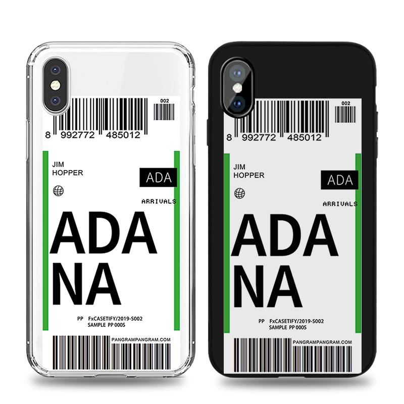 Air Flight Ticket Phone Case fit for iPhone 12 Pro iPhone 11 Pro iPhone 7 iPhone 8 iPhone 7 iPhone Xs iPhone Xr iPhone X iPhone 8