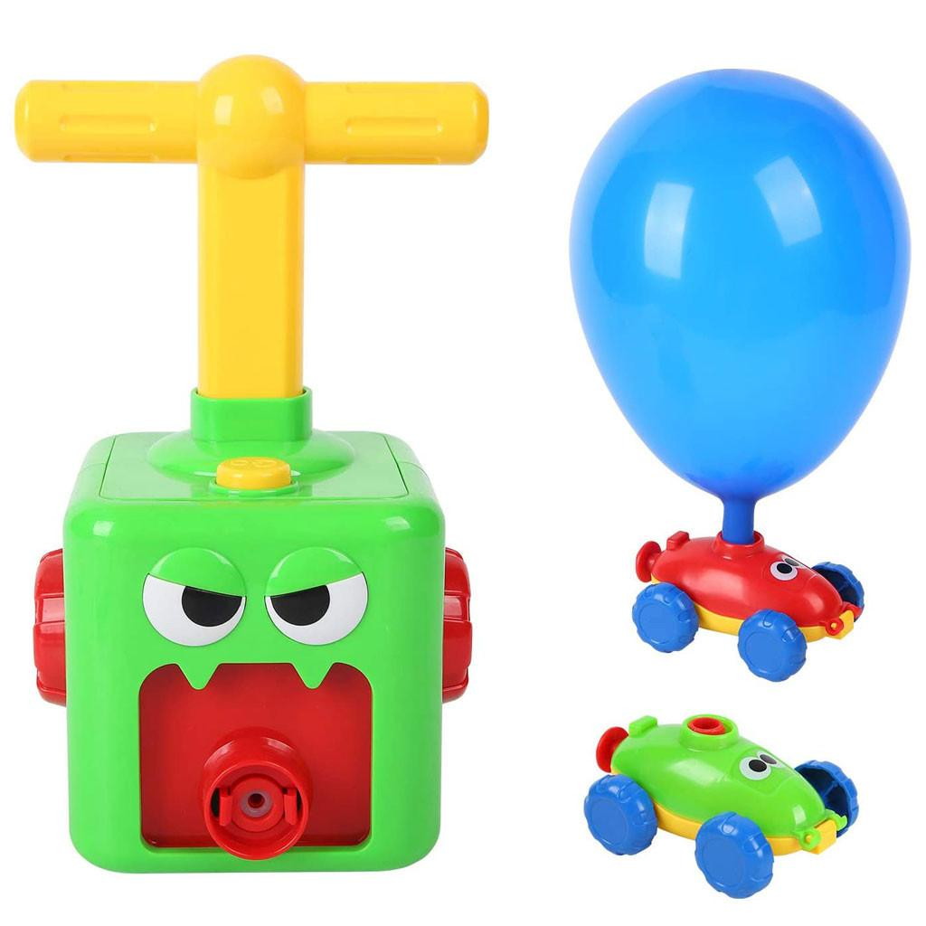 Children Inertial Power Ball Car Science Experiment Toy Puzzle Fun Toy Xmas Gift