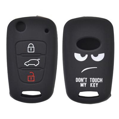 3 Buttons Car Key Fob Shell Pad For Kia Soul Sportage Rio Ceed Hyundai i20 i30