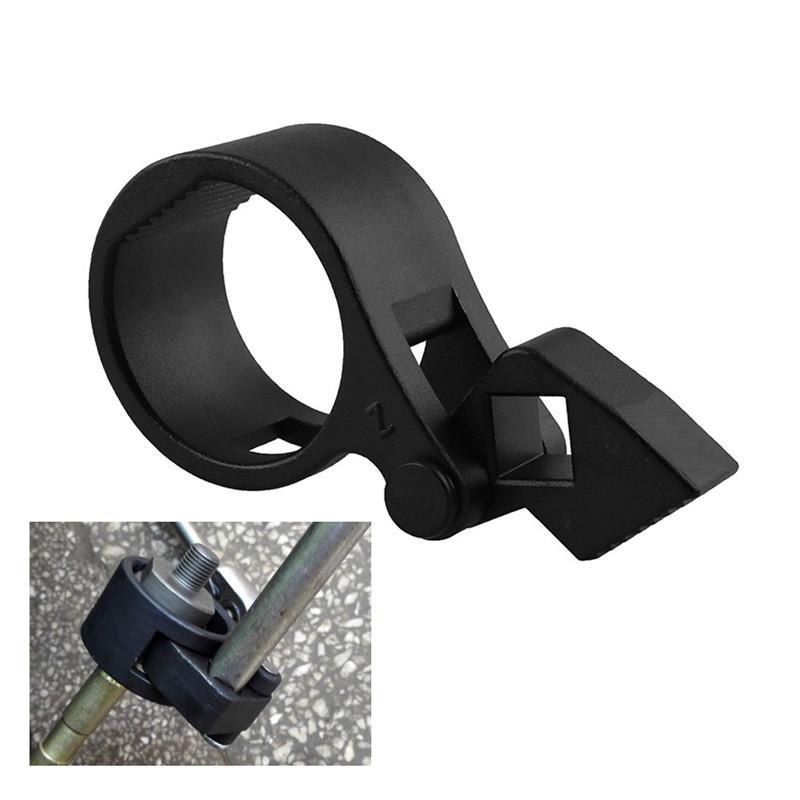 Tie Rod End Removal Universal Car SUV Tie Rod End Remover Steel Rod End Removal Wrench Tool 27mm-42mm Black
