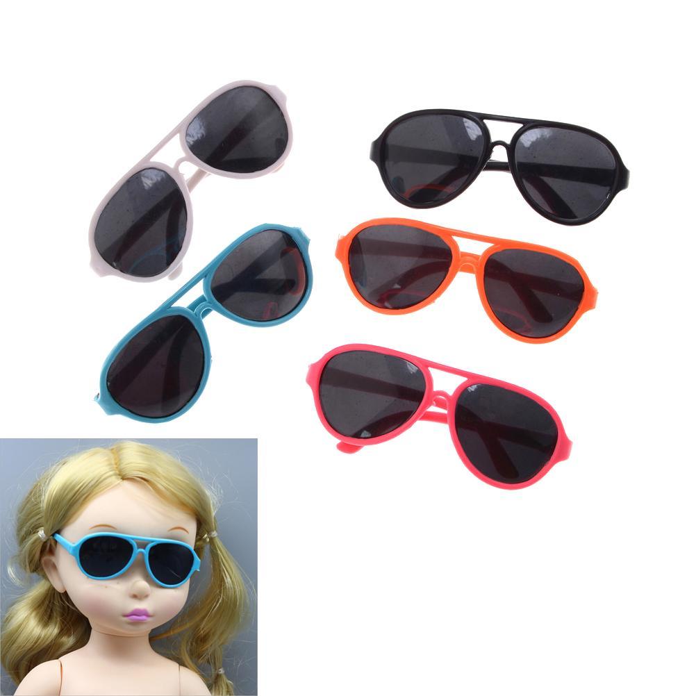 842e77bba02b5f Elliptique Frame poupée lunettes pour American Girl Doll verres 18 ...