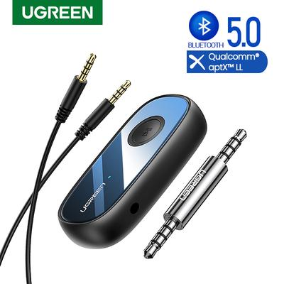 Ugreen Bluetooth 5 0 Car Kit Receiver Aptx Ll Wireless 3 5mm Jack Aux Adapter For Car Speaker Usb Bluetooth 3 5 Audio Receiver Buy At A Low Prices On Joom E Commerce Platform