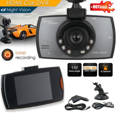 IC--G30 2 4 Inch Car DVR 90 Degree Camera Video Recorder Dash Camera