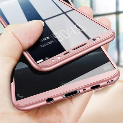 eee8753bdc3 360 Cubierta completa del caso para el iPhone Samsung Xiaomi Huawei  Tempered Glass Phone Back Cover