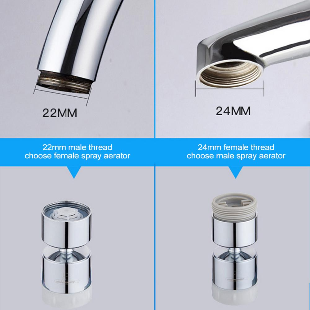 Spray Aerator For Kitchen Sink Faucets Nozzle Sprayer Head Water Tap Attachment@