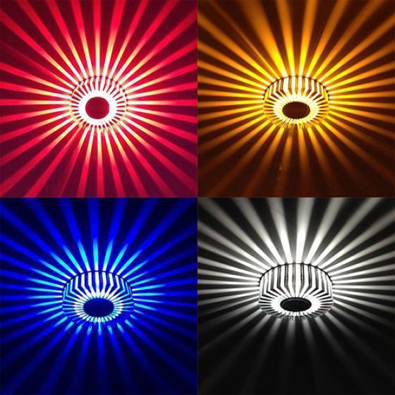 Ceiling Lights & Fans Buy Cheap Home Led 3w Hall Light Walkway Porch Decor Lamp Sun Flower Creative Led Ceiling Lights
