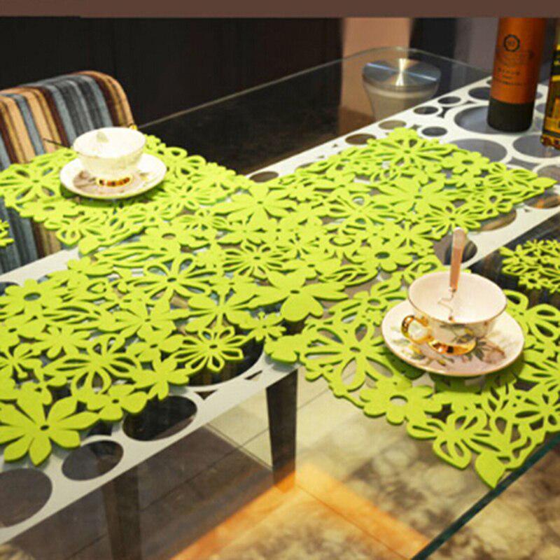 Полый Прямоугольник Столка Бегун Placemats Таблица Матс Главная Кухня Декор LD – купить по низким ценам в интернет-магазине Joom