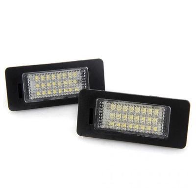 2pc License Plate Light LED Light Error Free For BMW E92 E93 E60 F30 M3 E90 E70