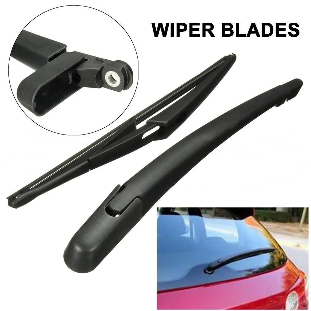 Rear Windscreen Window Windshield Wiper Arm Blade Set Black For Corsa D