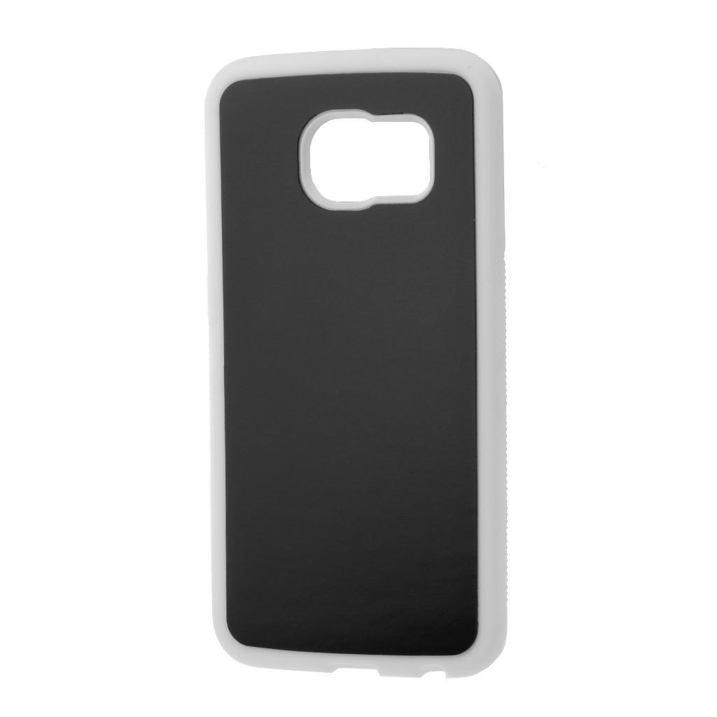 Anti Gravity Tpu Selfie Back Stick Grip Phone Case Cover For Sumsung 2in1 Full Tempered Glass Iphone 6 Plus 1 Of
