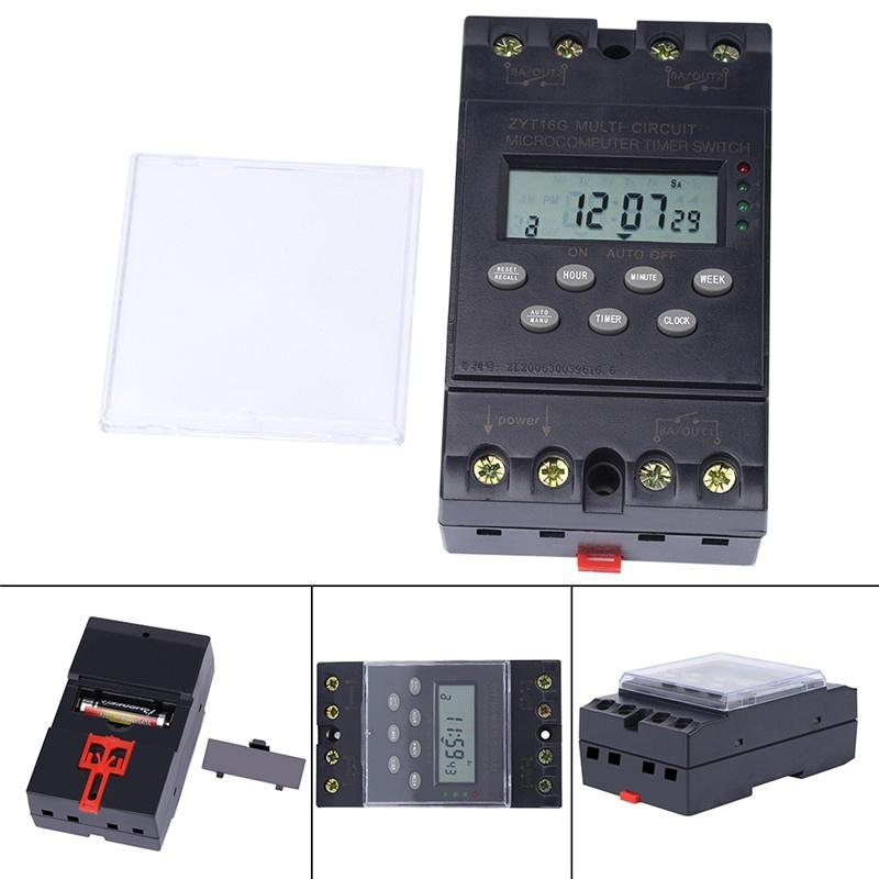 TM-163 Three Phases 380V Smart Digital Weekly Programmable Control Power Timer Switch Timer Switch