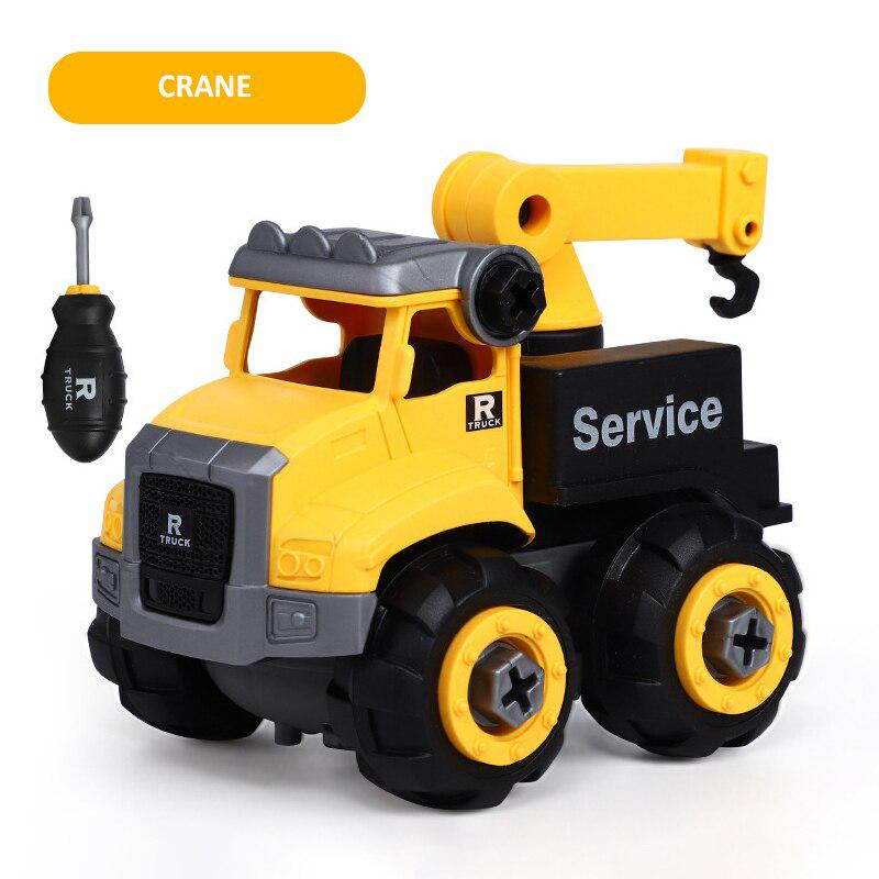 Details about  /LEADZM Children/'s Bulldozer Toy Car without Power Two Plastic Simulation Stones