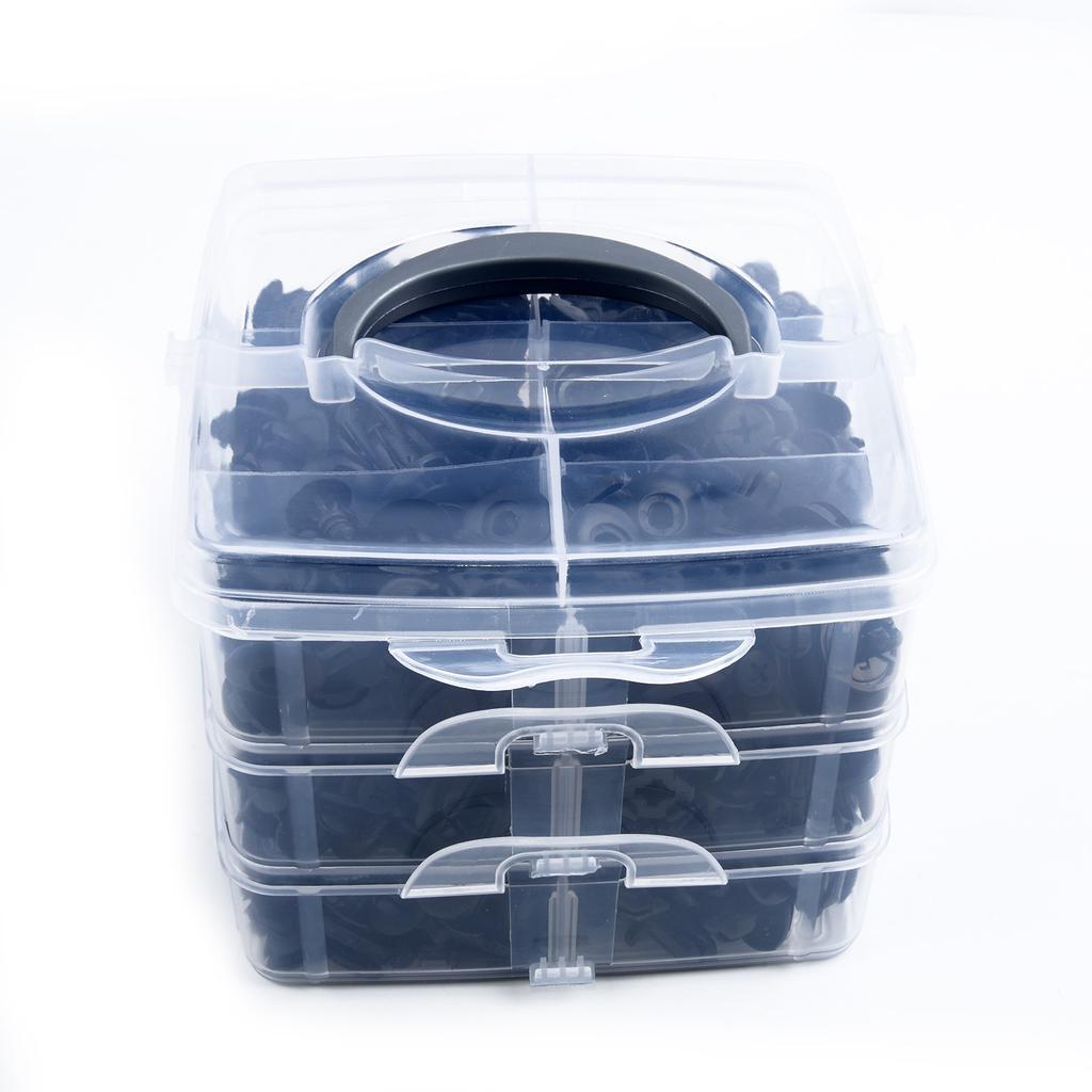 Universal Car Clip Side Skirt Bumper Door Trim Install Push Fastener 620x 16Size